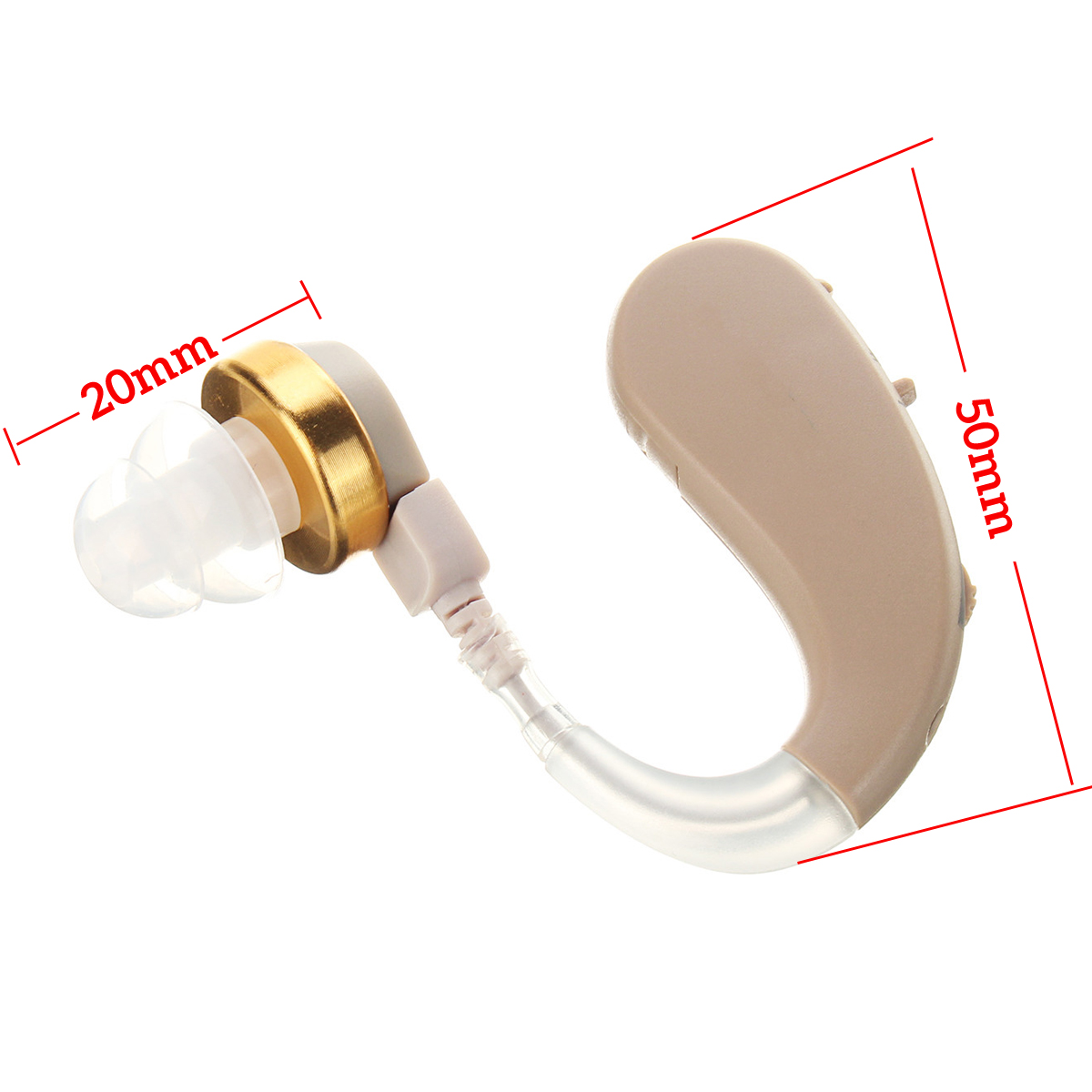 KXW-212 Mini Portable Hearing Aid Ear Amplifier Sound Adjust