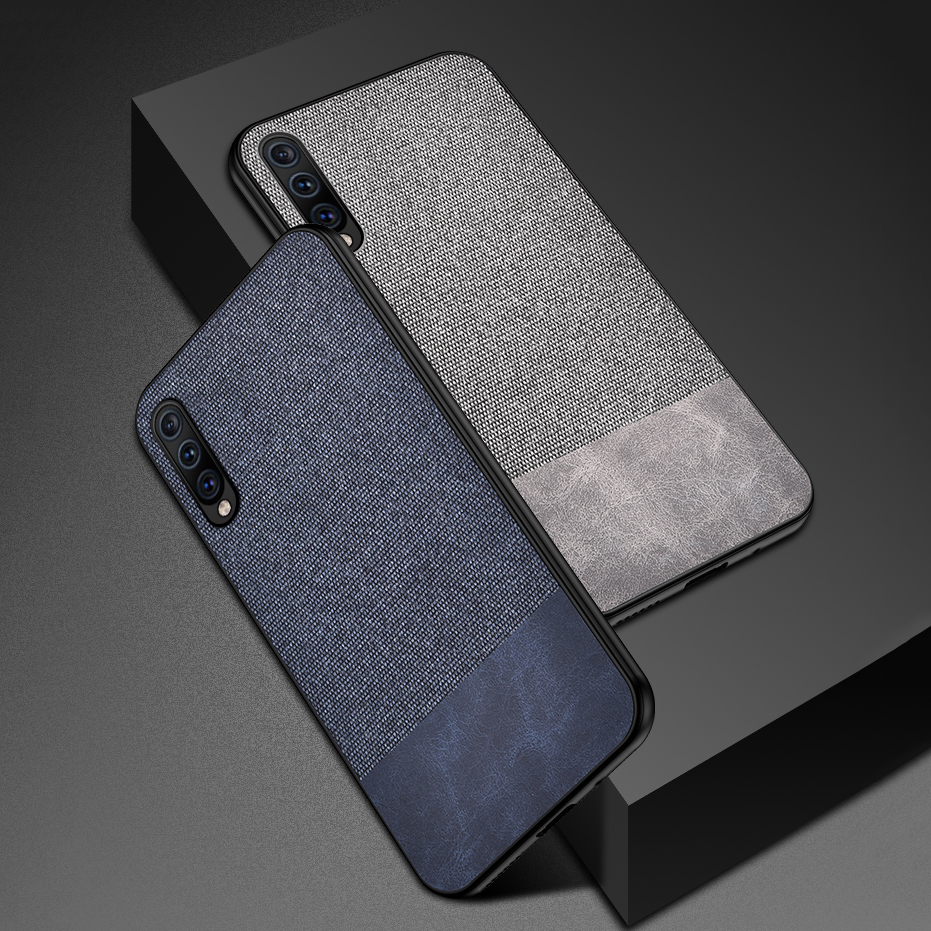Bakeey Cotton Cloth Protective Case For Samsung Galaxy A50 2019 Anti Fingerprint Back Cover