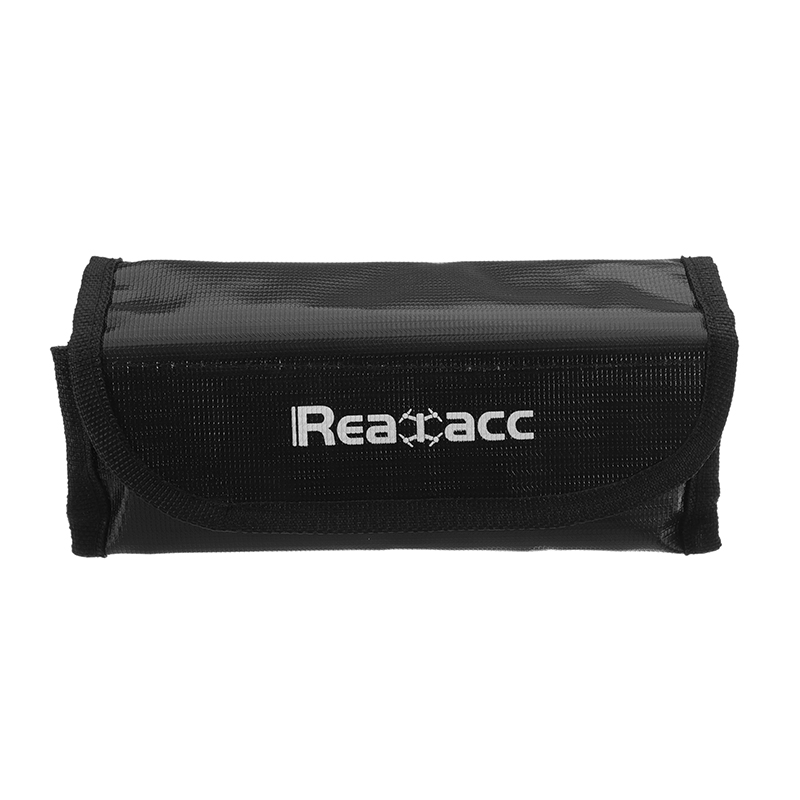 5Pcs Realacc Fire Retardant LiPo Battery Pack Portable Explosion Proof Safety Bag 185x75x60mm - Photo: 3