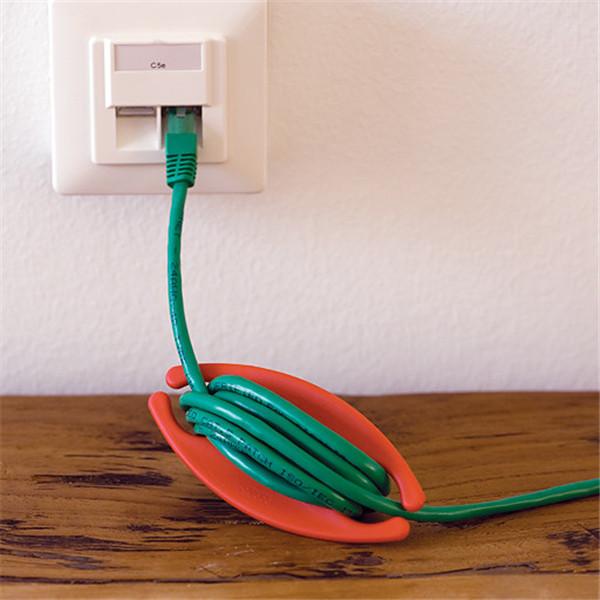 Bobino Silicone Earphone Wire USB Cable Bobbin Winder Wire Organizer