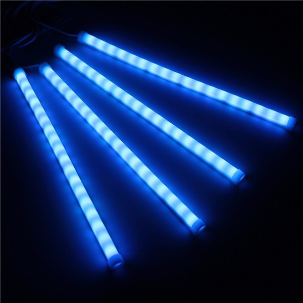 7Color RGB Strip 5050SMD Led Lights Music Control For Car Interior Lighting Remote Control DC12V