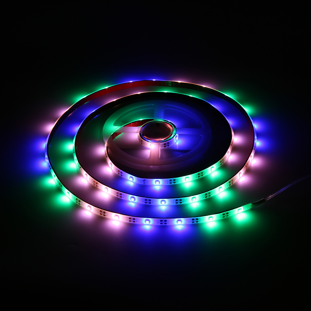 ARILUX® Battery Powered 2M SMD3528 PGB Waterproof 8 Modes LED Strip Light for Holiday Decor DC3V