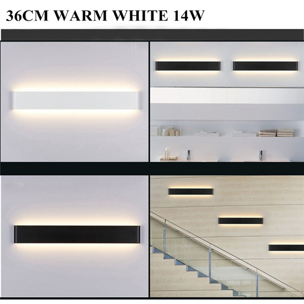 14W 70 LED 36CM LED Wall Lamp Bathroom Mirror Front Light 85-265V