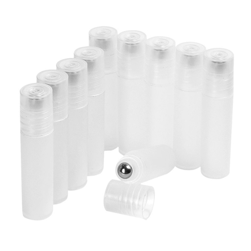 Plastic Bottle With Stainless Steel Ball Packing A Variety Of Cosmetics