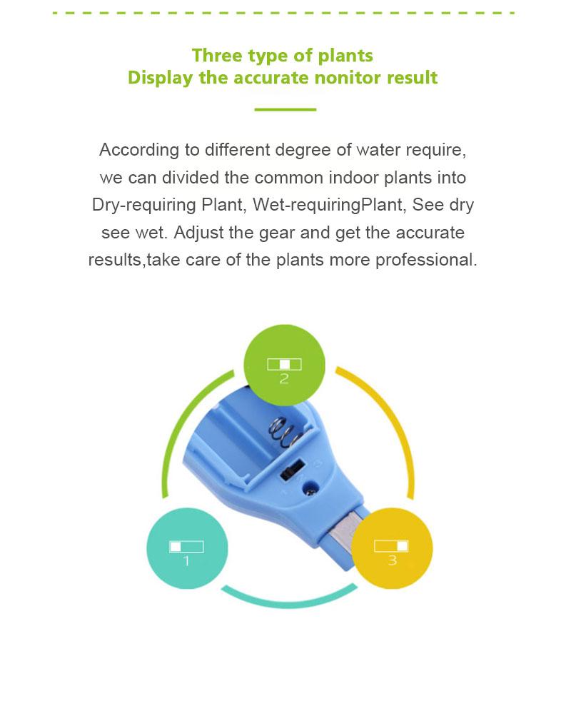 Outdoor Indoor Plants Soil Hygrometer Sensor Garden Plant Water Moisture Light Monitor Tools