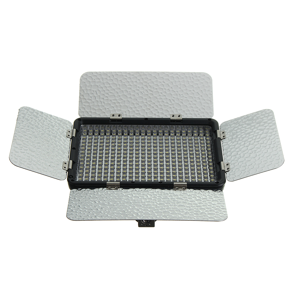 330 LED Light Panel Kit Photography Video Studio L ighting Dimmer Mount Photo