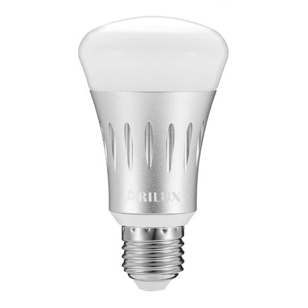 ARILUX® SL-WB 01 E27 7W RGB + White Dimmable Smart WIFI LED Light Bulb Works with Amazon Alexa Echo AC85-265V