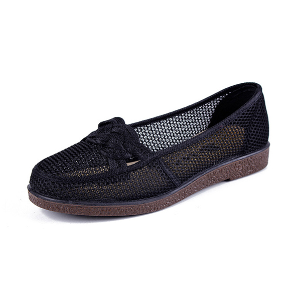 Hollow Casual Flat Loafer Shoes