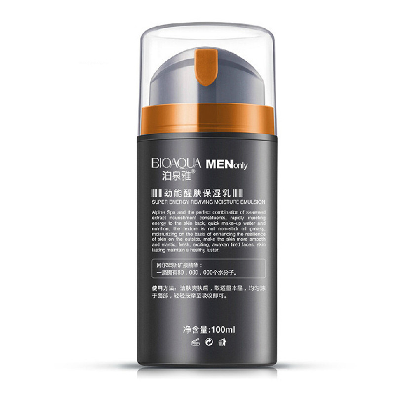 100ml Moisturizing Face Cream Oil Control For Men