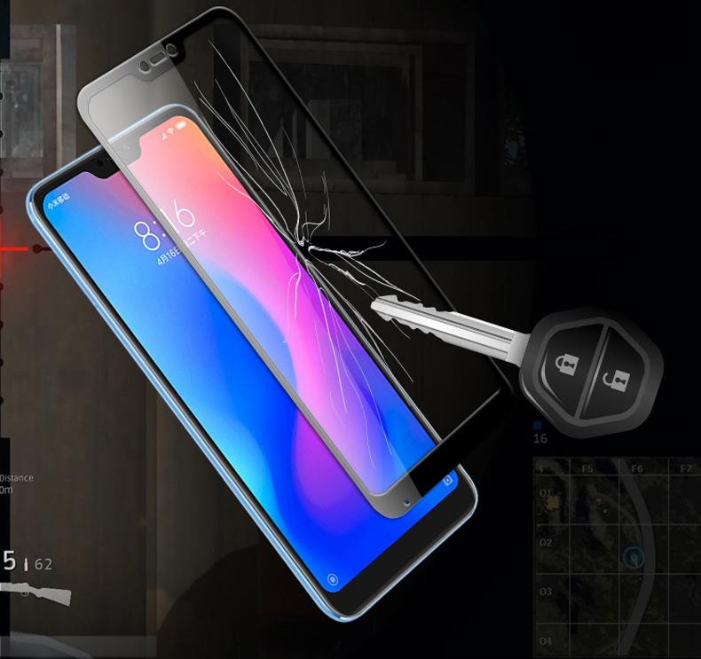 Bakeey 5D Curved Edge Full Cover Tempered Glass Screen Protector For Xiaomi Mi A2 Lite / Redmi 6 Pro