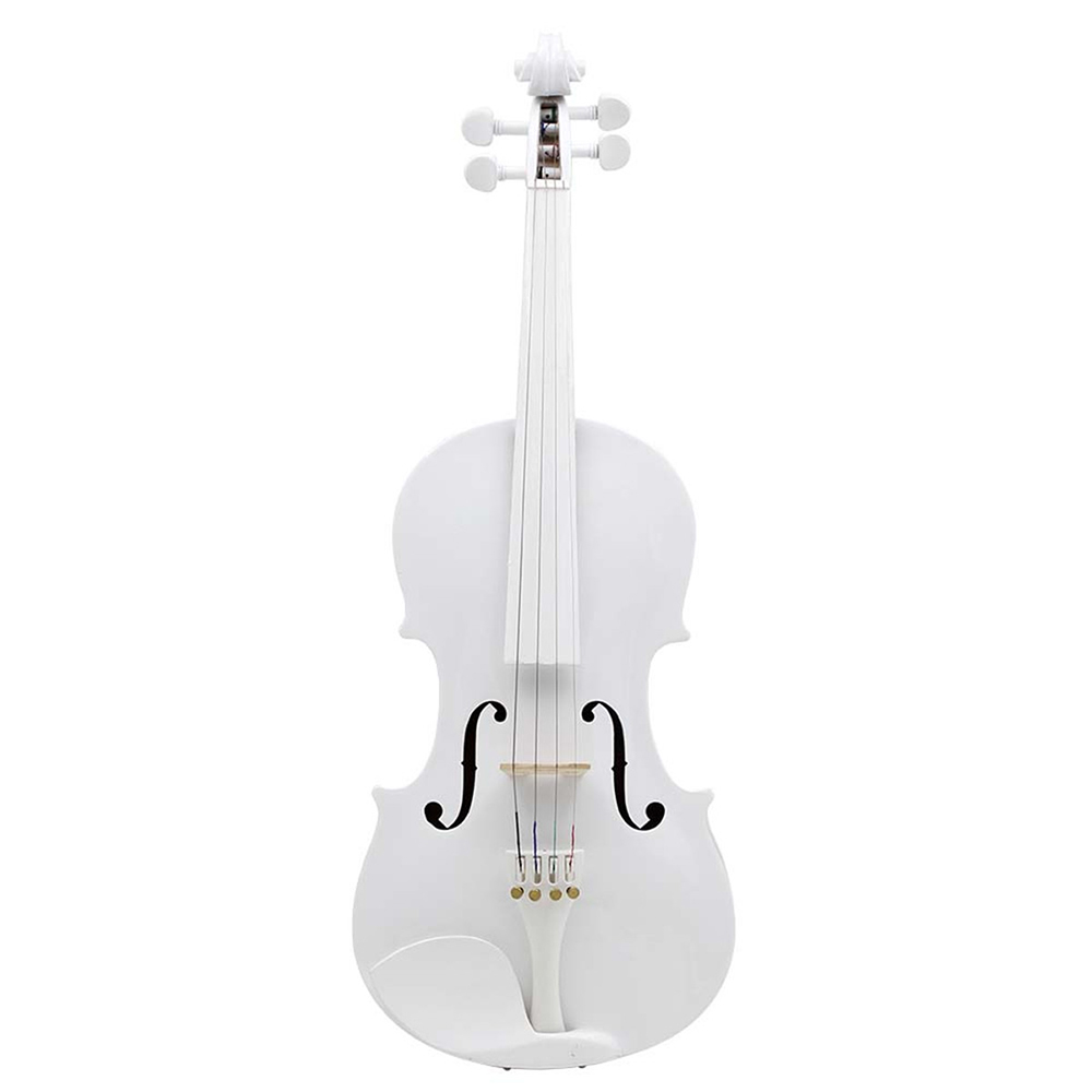 Full Size 4/4 Natural Acoustic Violin Fiddle With Case