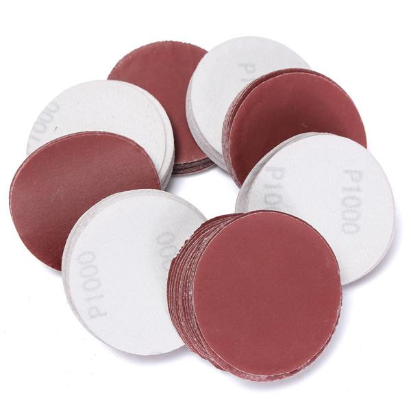 100pcs 75mm 1000 Grit Abrasive Sand Discs Sanding Polishing Pad Sandpaper