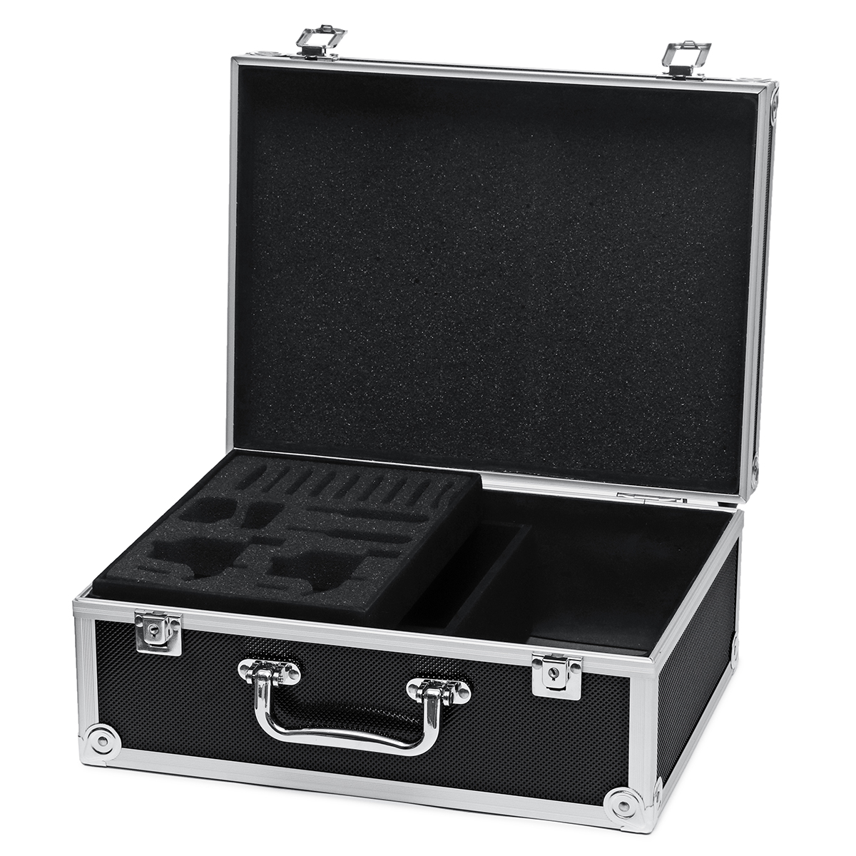 Aluminum Alloy Tattoo Accessory Toolbox Hard Carrying Storage Case Makeup Bag Tattoo Carrying Case