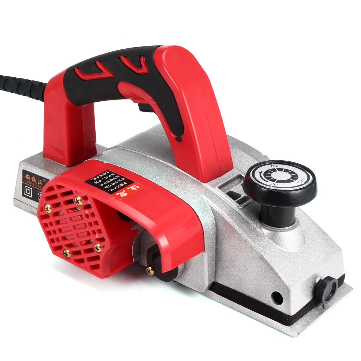 220V 1300W Electric Wood Planer Sander Power Planner Hand Planer