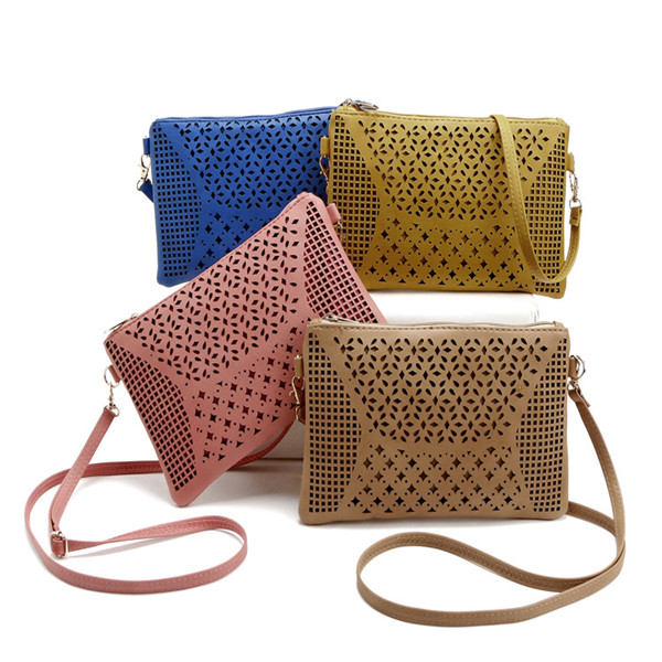 Women Vintage Evelope Hollow Out Crossbody Bags Casual Shoulder Bags Crossbody Bags