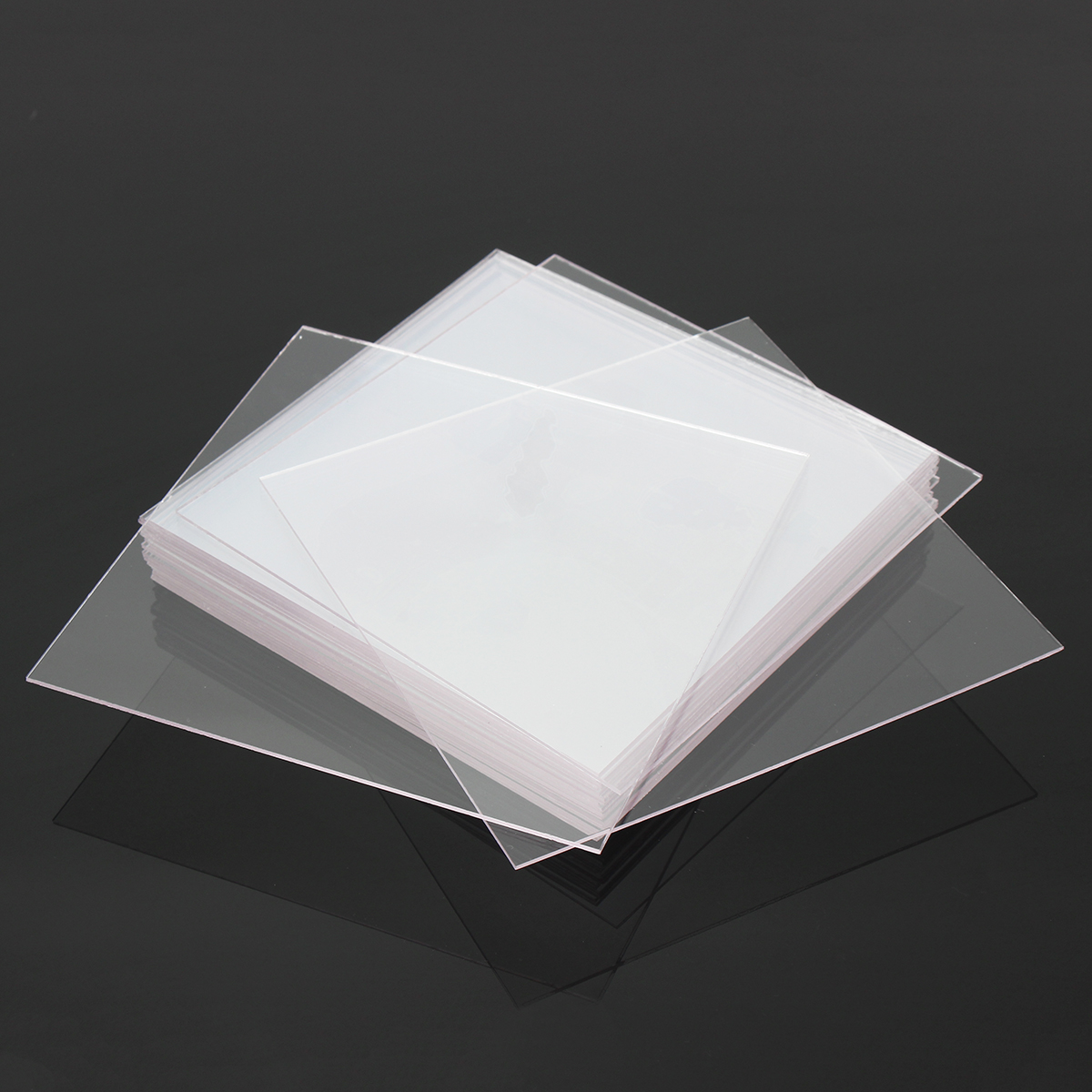 20Pcs 1.0mm Dental Lab Splint Thermoforming Hard Plastic Sheet for Vacuum Forming Dental Tools