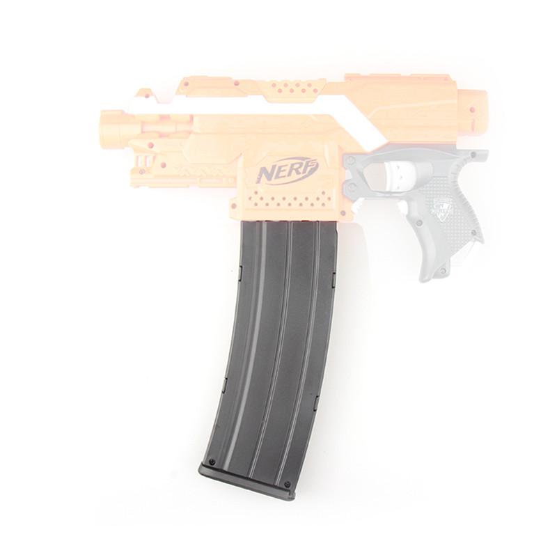 WORKER Toy 15Darts Plastic Clip Magazine For Nerf Modify Stryfe Elite Retaliator Blaster Toy Black