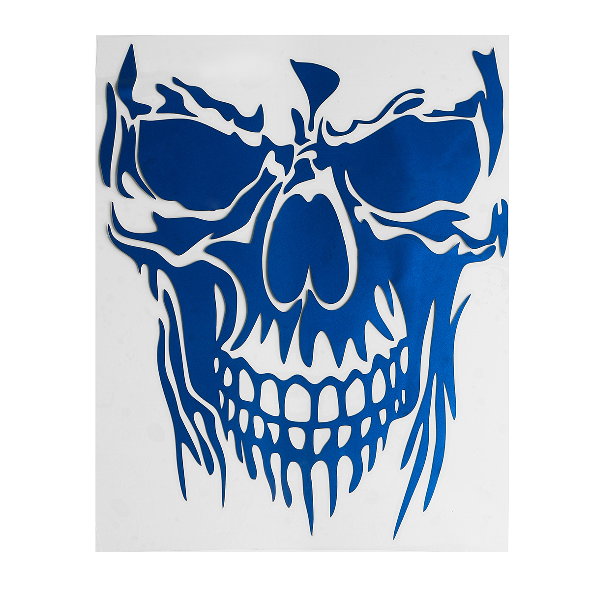23 x 29.5cm Skull Hood Car Stickers Vinyl Decals Auto Body Truck Tailgate Window Door Universal