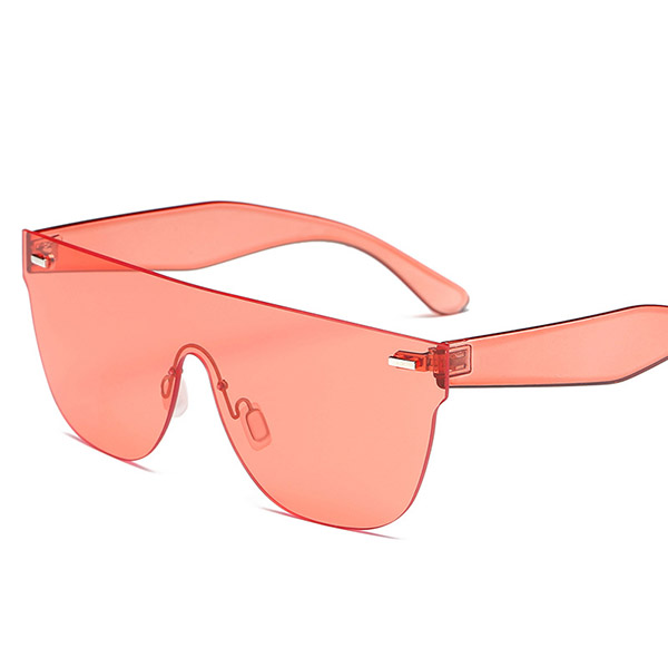 Women Summer Anti-UV Sunglasses Fashion Colorful Frame Eyewear