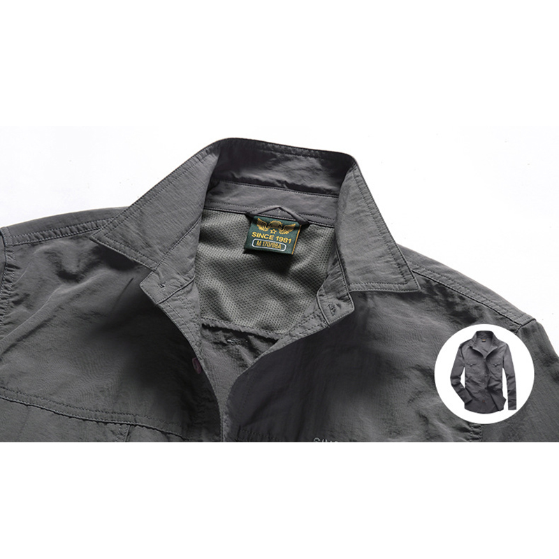 Outdoor Quick Dry Waterproof Breathable Light Work Shirts
