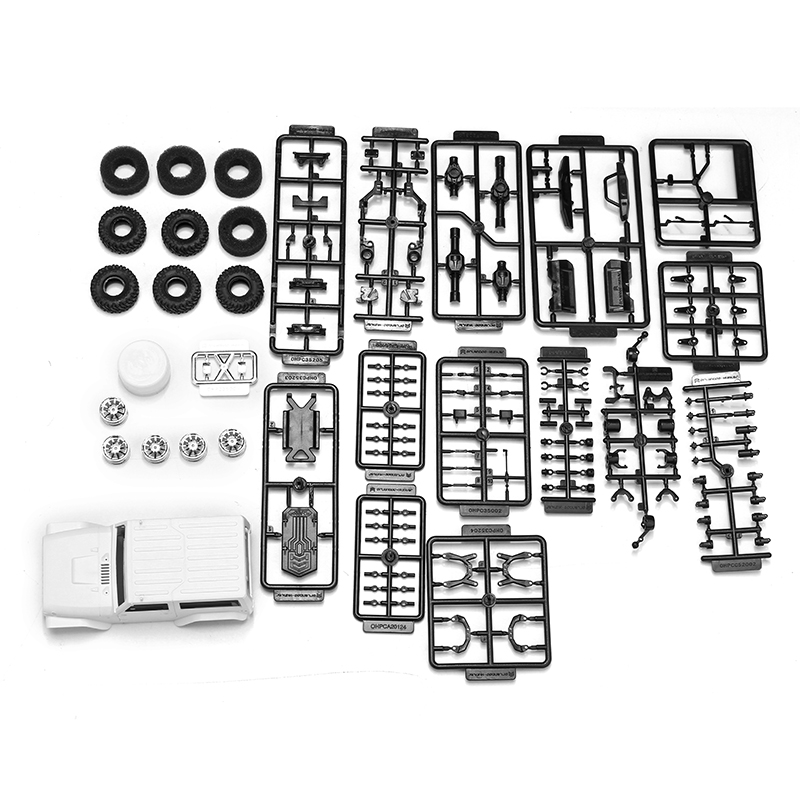 Orlandoo OH35A01 1:35 EP Scale Crawler Assembly Kit Body RC Cars KIT WithoutElectronicParts