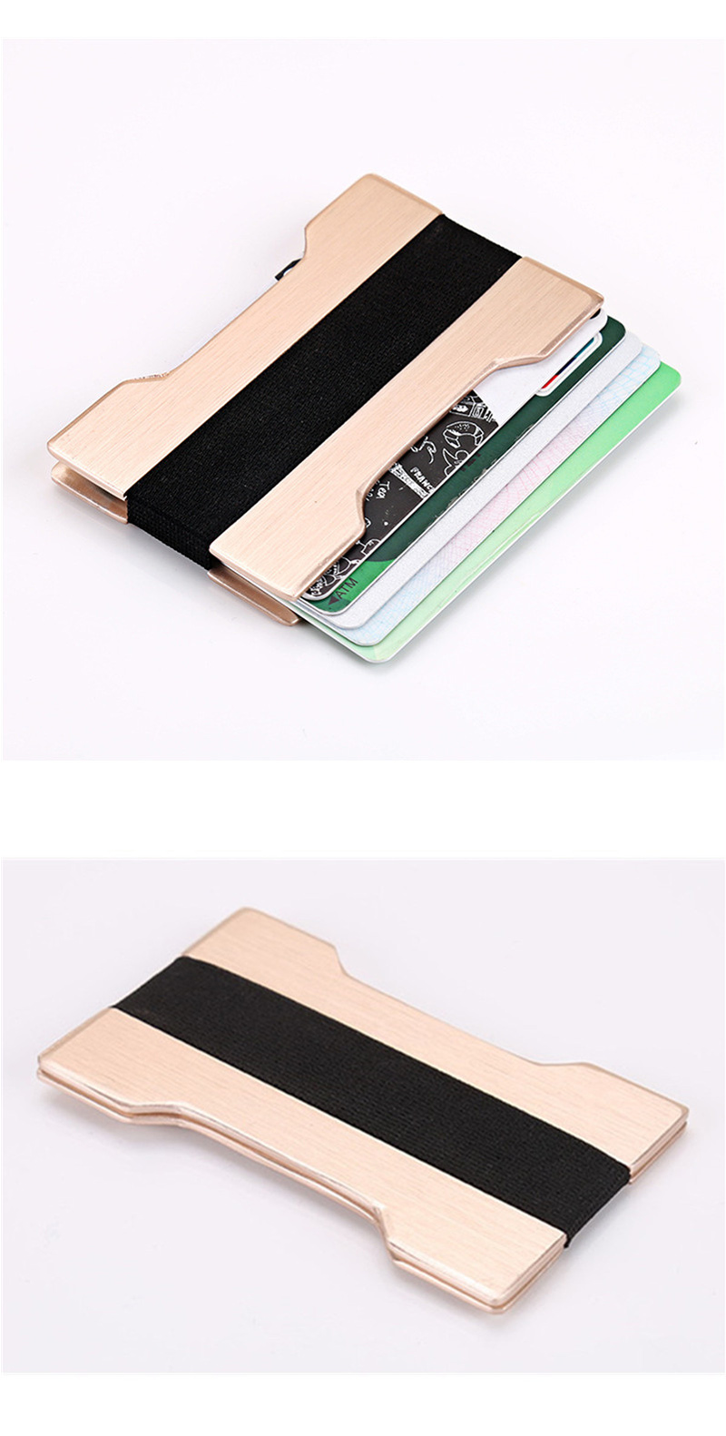 Aluminium Alloy Business Card Holder
