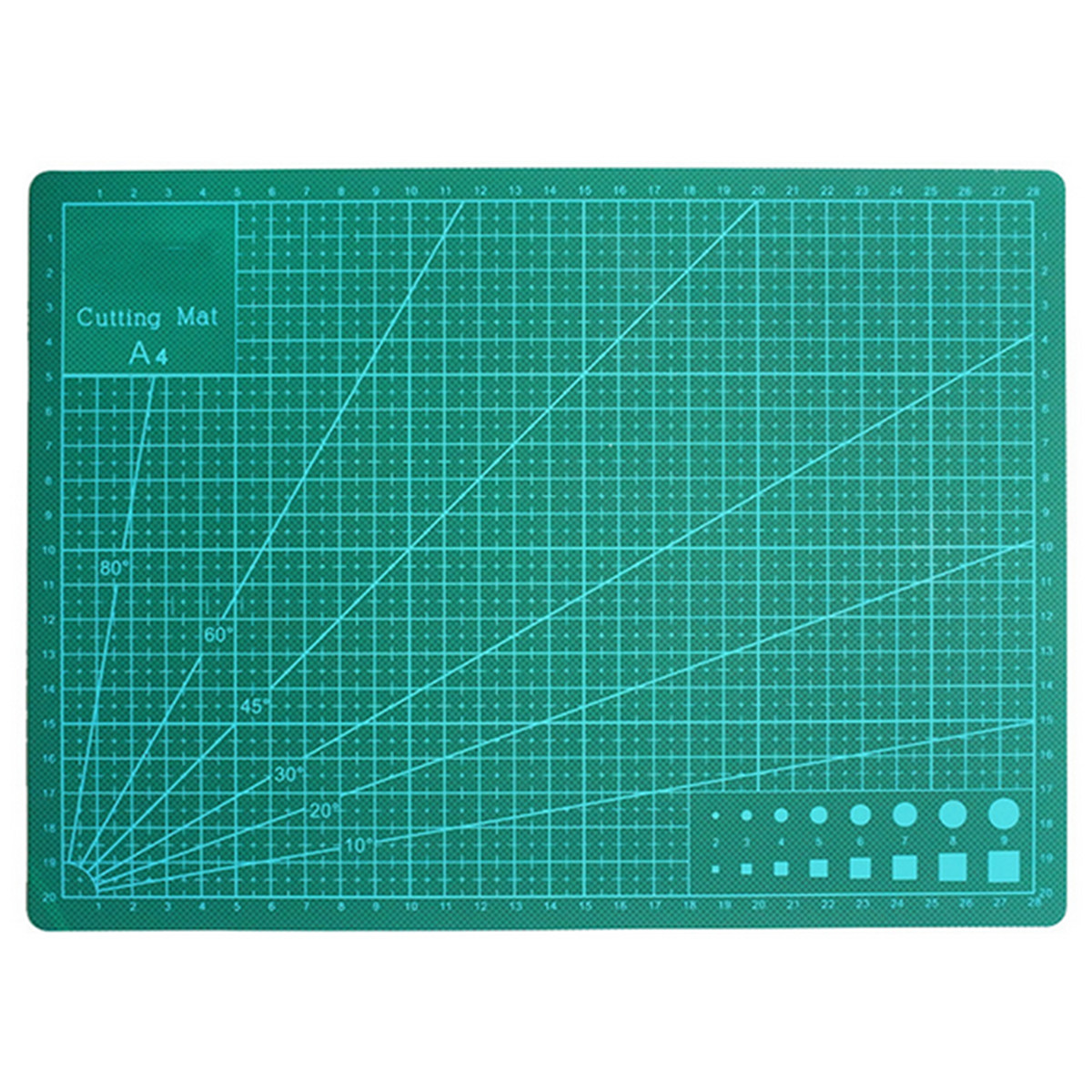 Double Sided Green Cutting Mat Board A4 Size Pad Model Healing Design Craft Tool