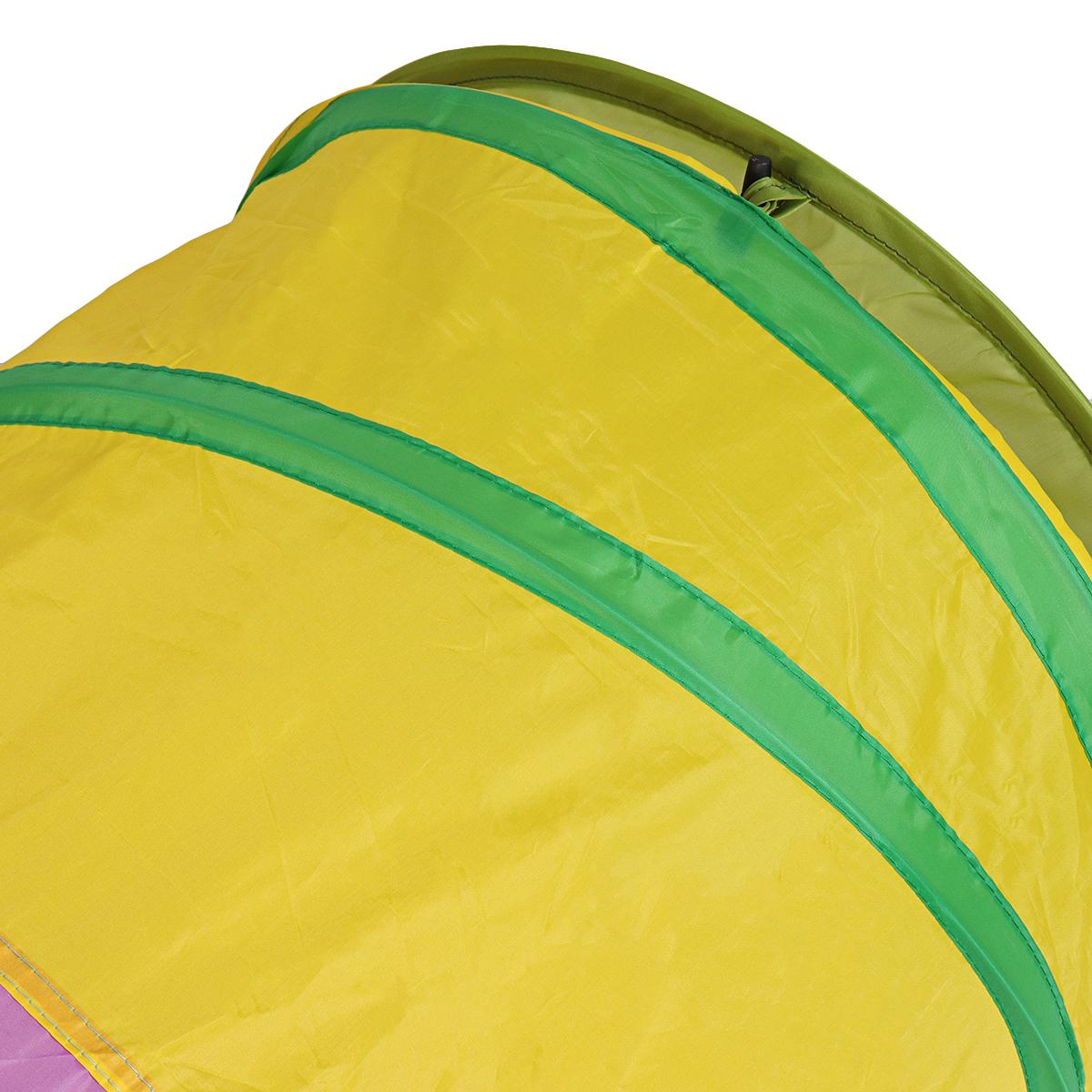 Kinder spielen Zelte mehrfarbige Raupe Zelt Tunnel lustige Entwicklung Spielzeug