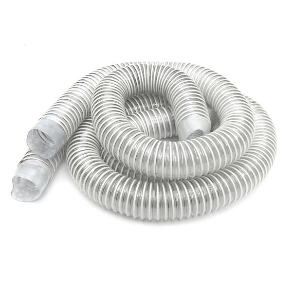 Industrial Extractor Dust Collector Hose with Hoop and Screw