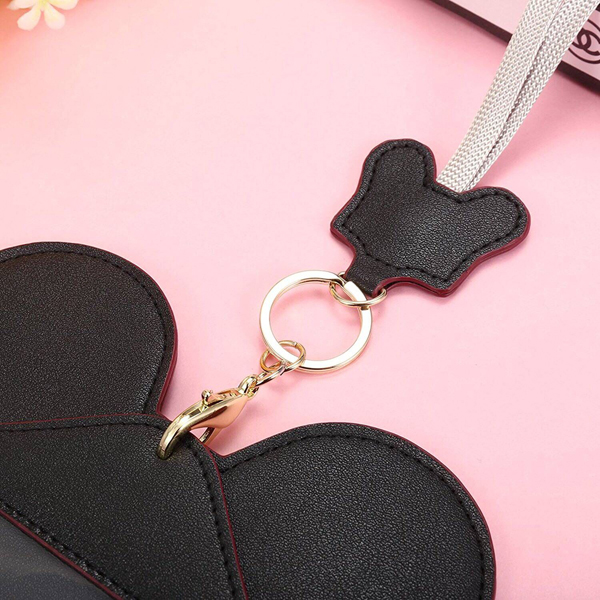 Women Cute Animal Shape Lanyard Phone Wallet