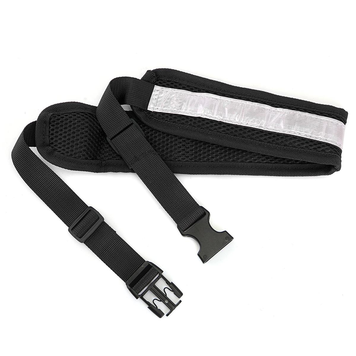 Polyester Elastic Pet Dog Leash Lead Strap Rope Waist Belt