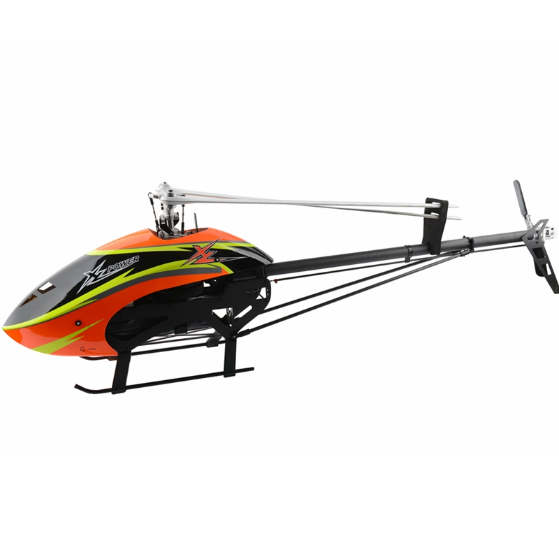 XLPower Specter 700 XL700 FBL 6CH 3D Flying RC Helicopter Kit With Brushless Motor/Main Blade/ Tail Blade - Photo: 6