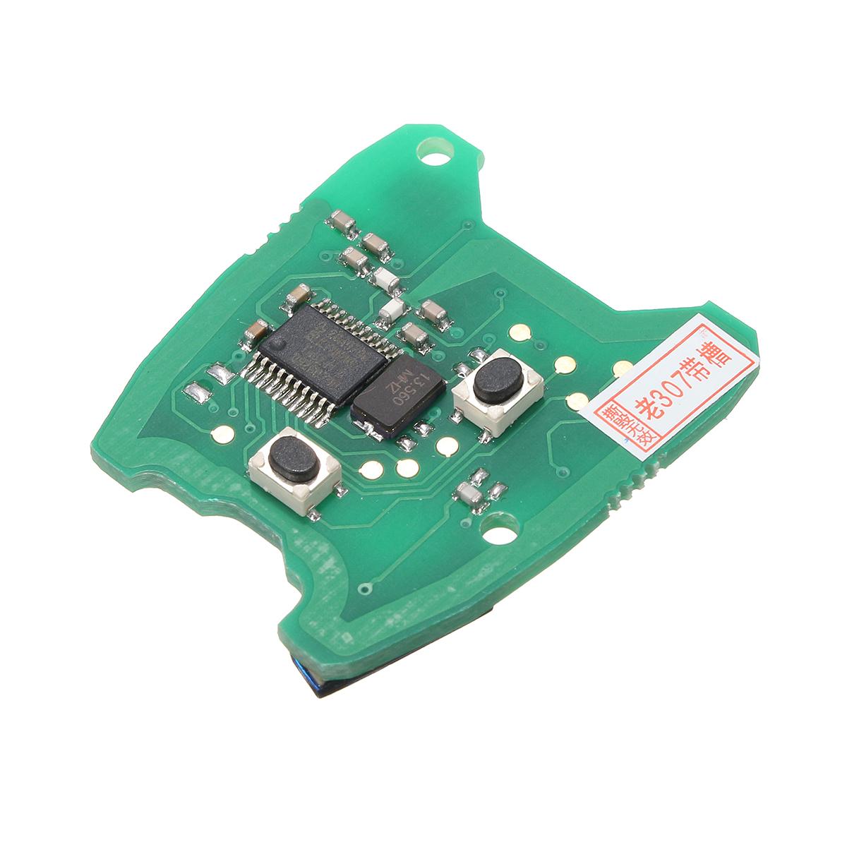 433MHz Дистанционный Key PCB Печатная плата для Peugeot 307 / Citroen 73373067C