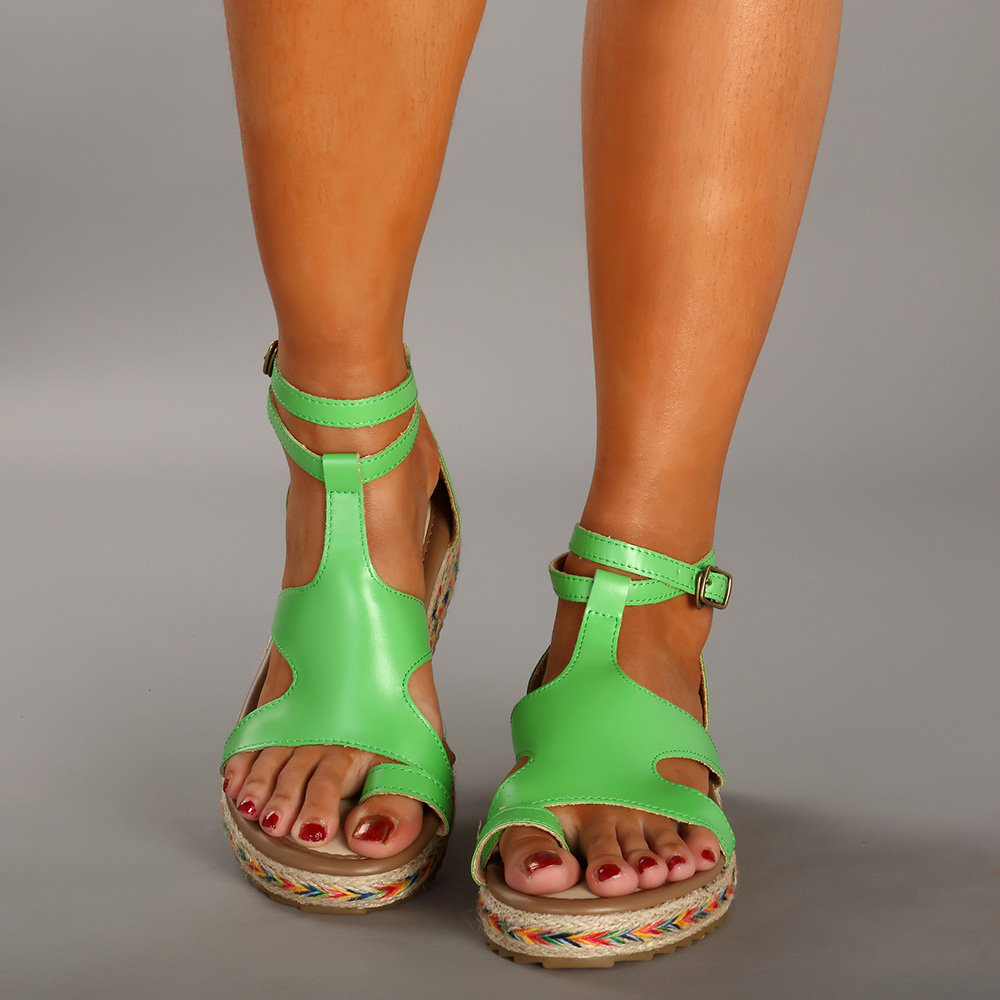 Roman Gladiator Sandals Summer Platform Women Shoes