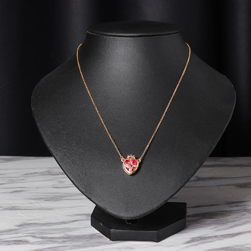 Sailor Moon Crown Ami Regresa Pendant Chain Necklace