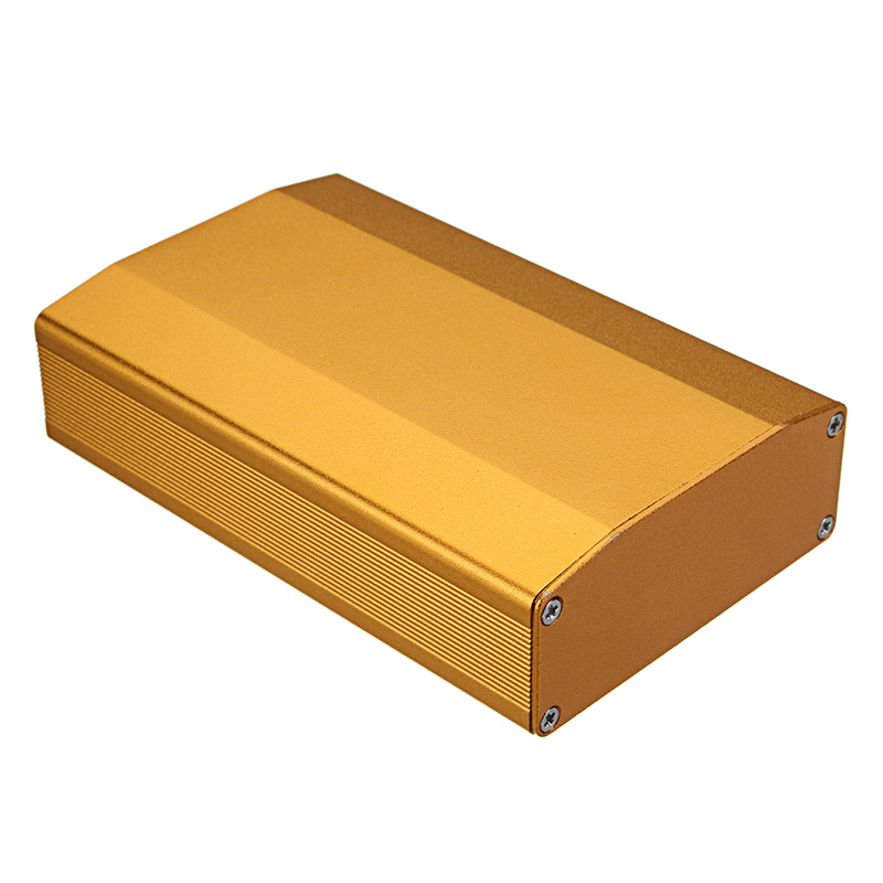 Extruded Aluminum Project Enclosure Electronic Box Split Body DIY Electronic Tools 100X64X25.5mm