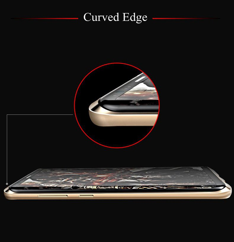 Ultra Thin Aviation Alloy Anti Knock Bumper+Colored Back Cover Case For Samsung Galaxy S8