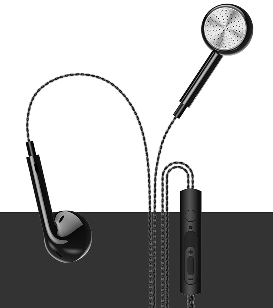 USAMS EP-20 Perfume 3.5mm Wired Control Earphone Headphone with Mic for iPhone Samsung Xiaomi