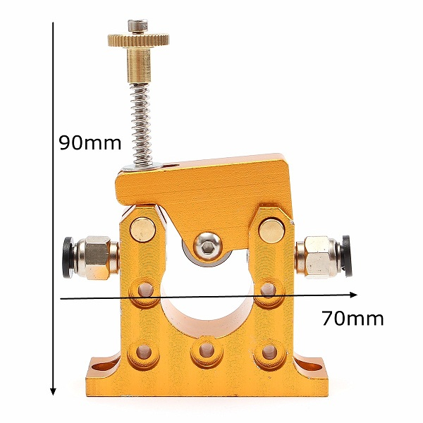 All Metal Bowden Remote Extruder Kit 1.75mm For 3D Printer 42 Stepper Motor 2 Direction