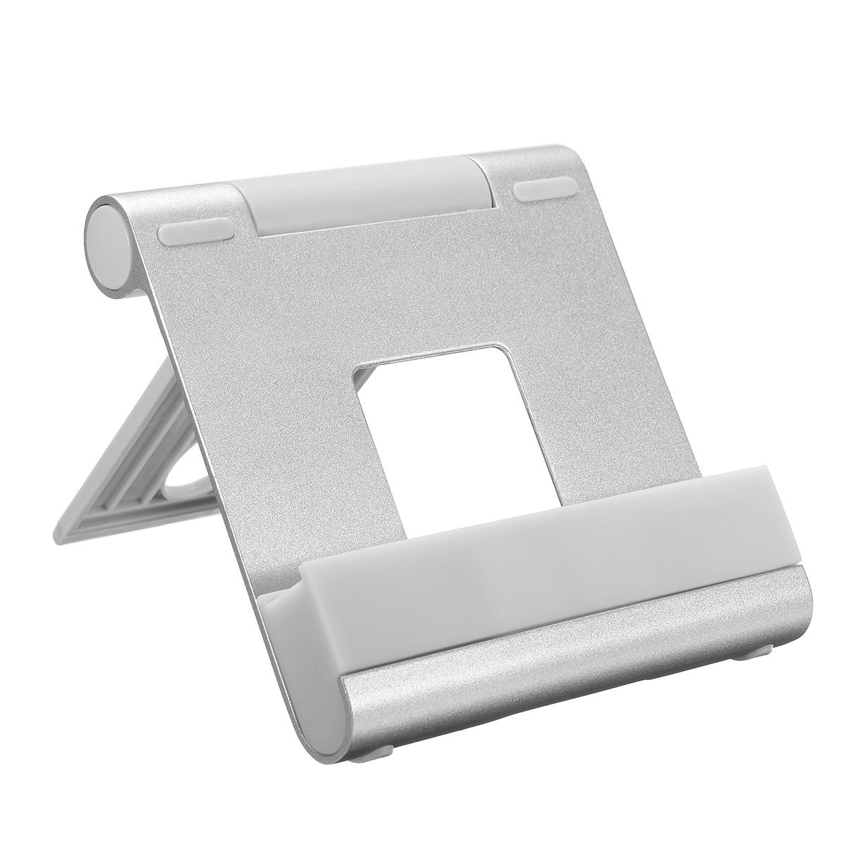 Universal Aluminum Adjustable Desktop Stand Holder Mount for iPhone Samsung Tablet PC