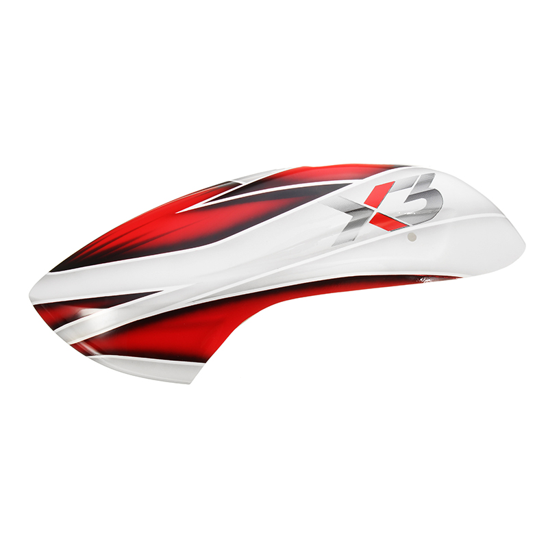 ONERC GAUI X3 RC Helicopter Part Canopy Red Yellow