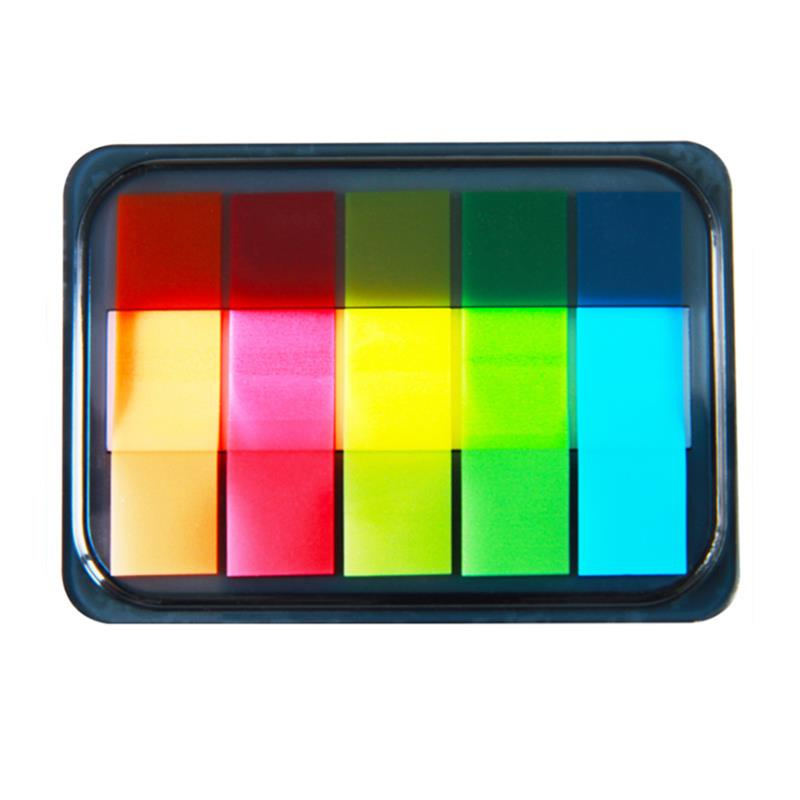 XIAOMI Ecosystem Deli 9060 Fluorescent Colorful Indication Classification Stickers Cute Pad Memo Classification Labels School Office Stationery Supplies