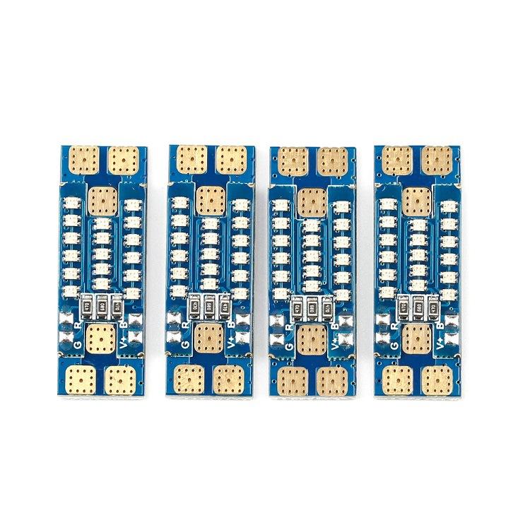 4 PCS iFlight PDB LED Board 17 Bits 0603 RGB 40A 35mm For RC Drone FPV Racing Multi Rotor