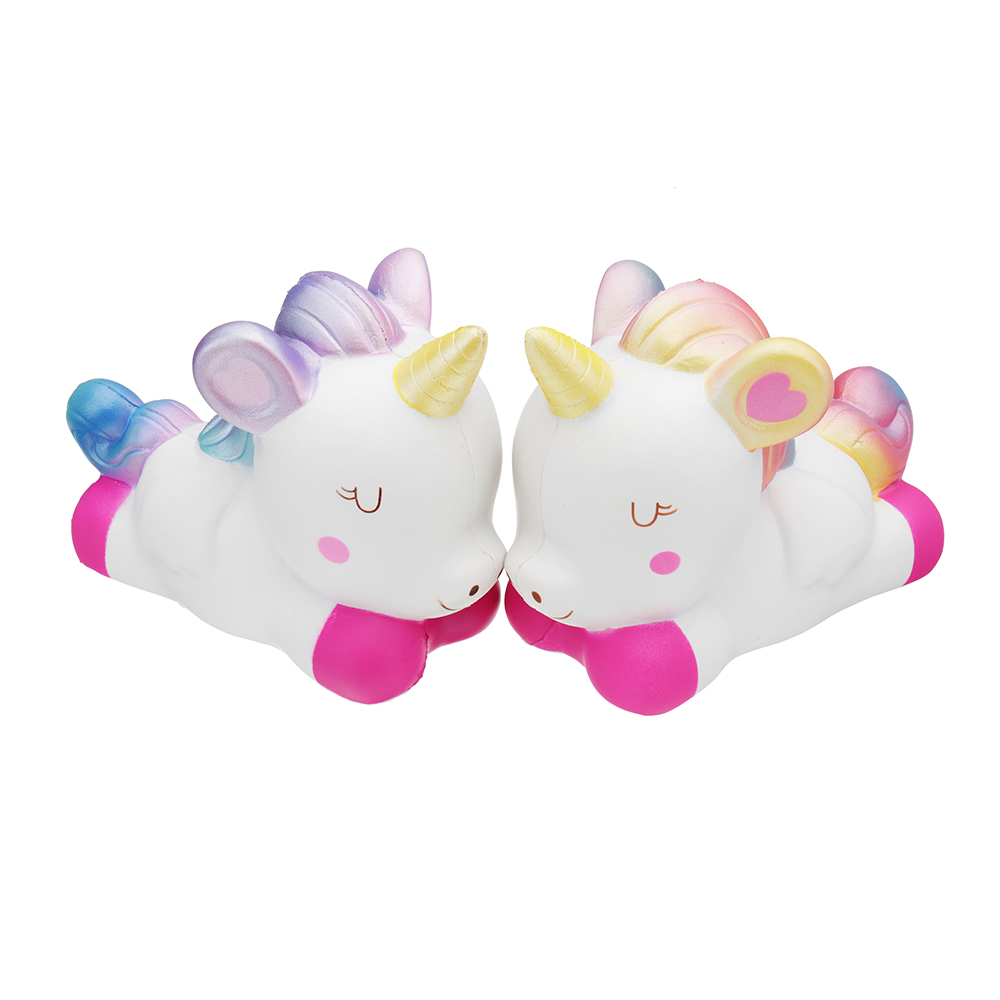 Kiibru Galaxy Rainbow Unicorn Squishy 15*11*6.5CM Slow Rising With Packaging Collection Gift