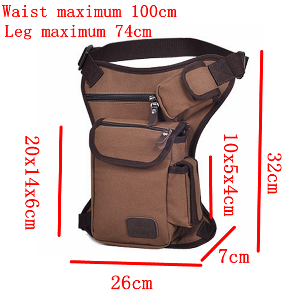 Shoulder Tank Bags Military Waist Pack Riding Racing Outdoor Sports Weapons Tactics Leg Bag Handbag