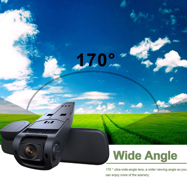 A118 Car Dash Cam DVR 1080P Novatek 96650 Capacitor Battery