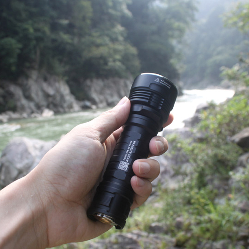 PALIGHT HXM-XPLAT XP-L HI 1380LM 6Modes Brightness Long-rang Hunting Tactical LED Flashlight 26650/18650