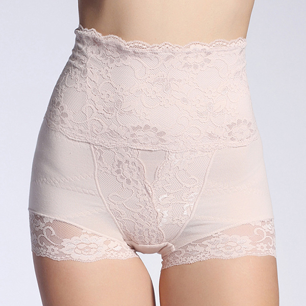 High Waist Hip Shaping Lace Comfy Shaperwear