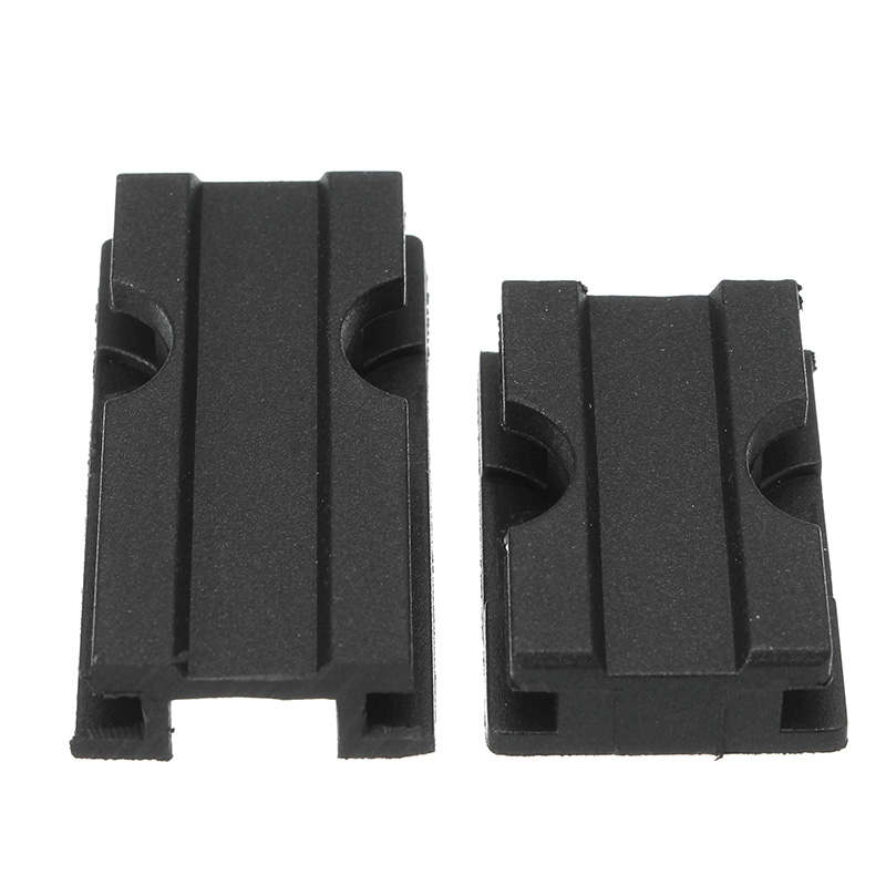 WORKER Toy Plastic Weaver Top Rail Slot Toys For Nerf Replacement Accessory 3CM Plus 4.5CM
