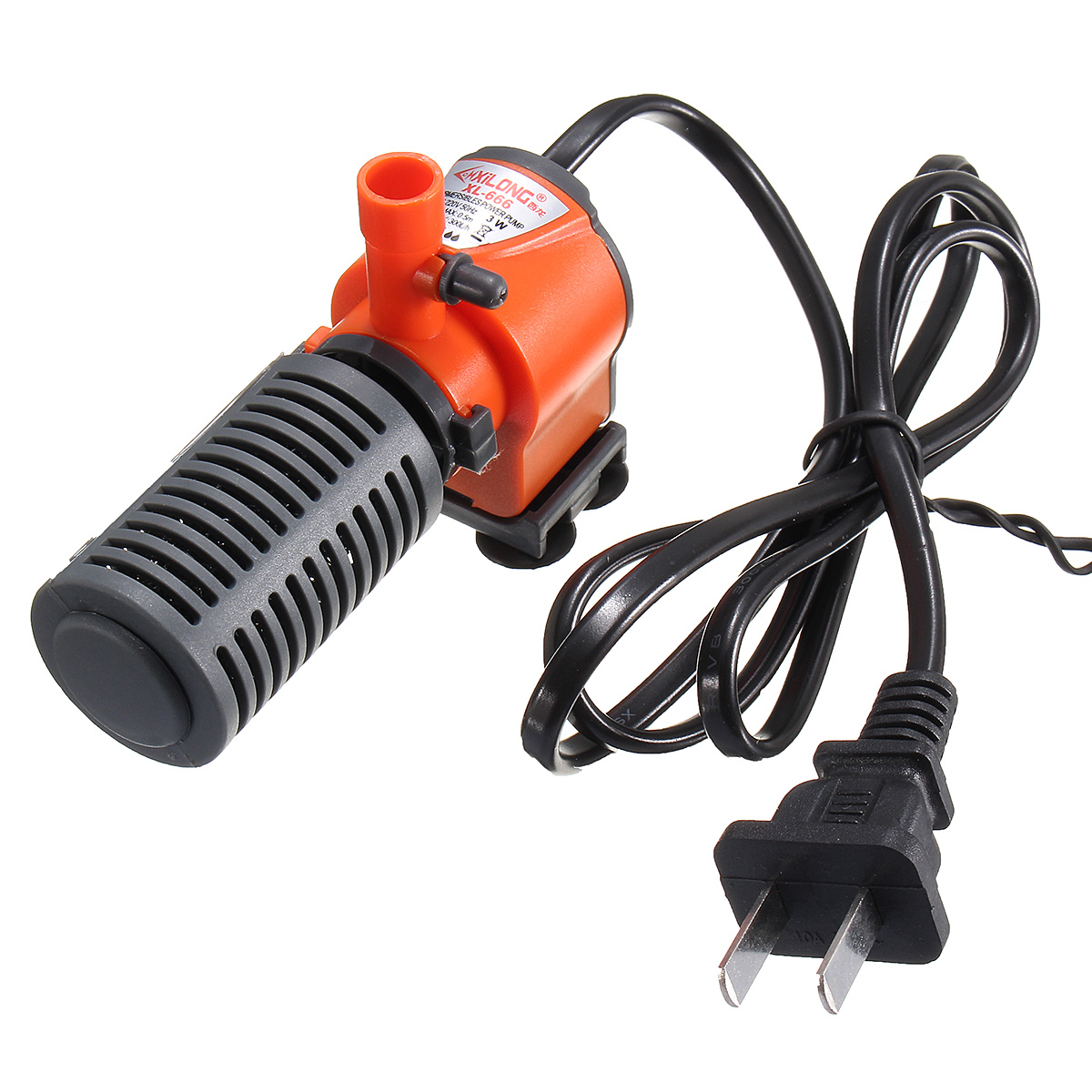 300/600L/H Aquarium Internal Water Filter Fish Tank Submersible Pump Spray Bar Aquarium Air Pump